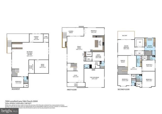 7704 Lunceford Lane, FALLS CHURCH, VA 22043 (#VAFX2008124) :: Shamrock Realty Group, Inc