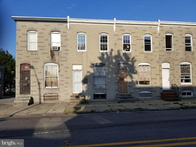 520 S Smallwood Street, BALTIMORE, MD 21223 (#MDBA2004638) :: Charis Realty Group