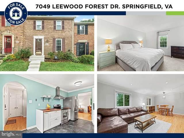 7049 Leewood Forest Drive, SPRINGFIELD, VA 22151 (#VAFX2014642) :: The Miller Team