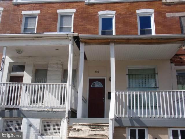 2916 W North Avenue, BALTIMORE, MD 21216 (#MDBA2010752) :: Betsher and Associates Realtors