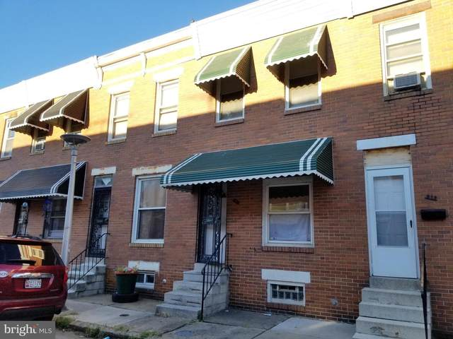 910 N Streeper Street, BALTIMORE, MD 21205 (#MDBA2013550) :: The Maryland Group of Long & Foster Real Estate