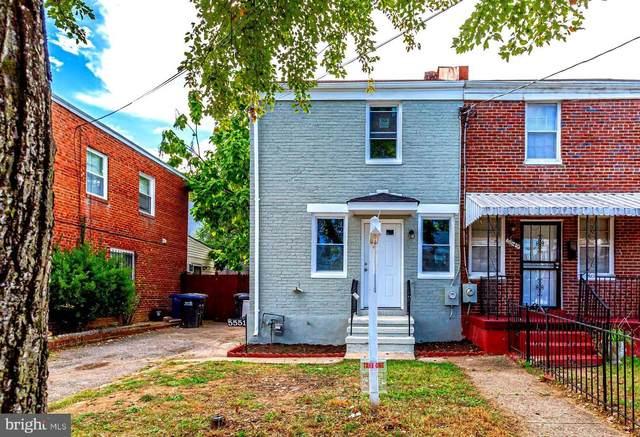 5551 B Street SE, WASHINGTON, DC 20019 (#DCDC2016246) :: Keller Williams Realty Centre