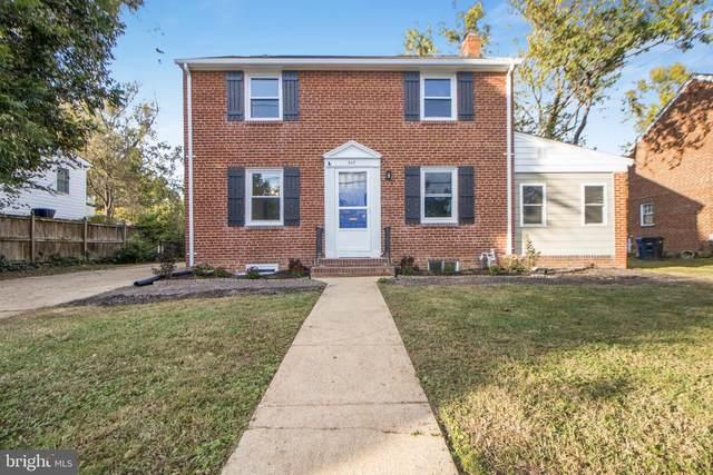 507 Janneys, ALEXANDRIA, VA 22302 (#VAAX2004600) :: Colgan Real Estate