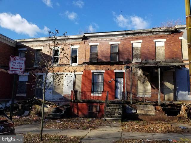 1716 Dukeland Street, BALTIMORE, MD 21216 (#1000044201) :: The Redux Group