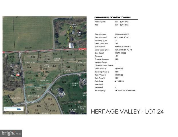 Dannah Drive Heritage Valley - Dannah Drive Lot 24, CARLISLE, PA 17015 (#1005933521) :: Realty ONE Group Unlimited