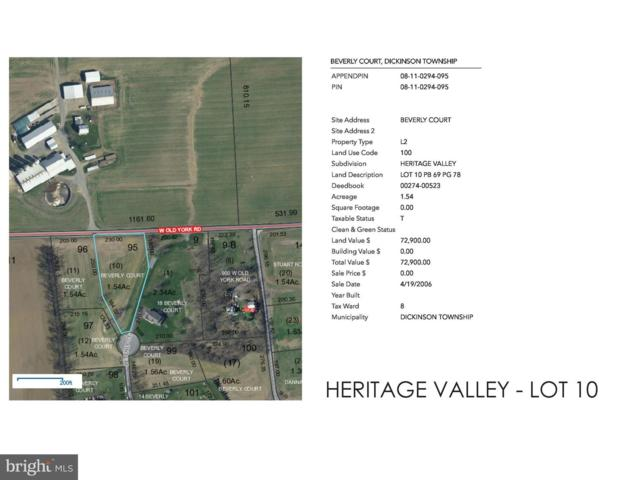 Beverly Court Heritage Valley - Beverly Court Lot 10, CARLISLE, PA 17015 (#1005936311) :: ROSS | RESIDENTIAL