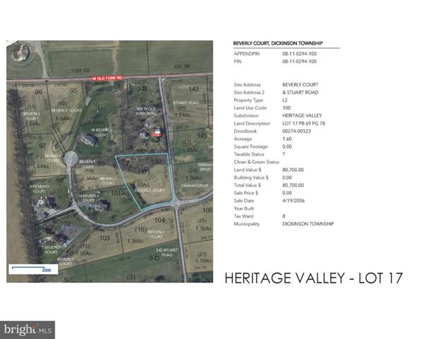 Heritage Valley - Beverly Court Lot 17, CARLISLE, PA 17015 (#1005936611) :: ROSS | RESIDENTIAL