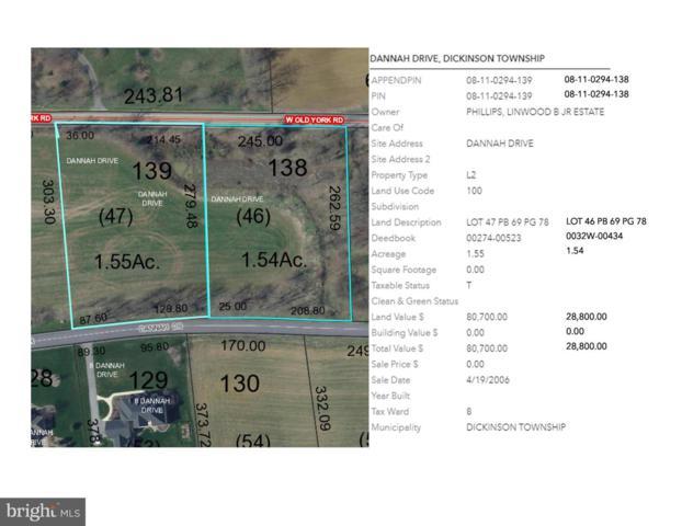 Dannah Drive Heritage Valley - Dannah Drive Lot 46/47, CARLISLE, PA 17015 (#1005936843) :: CENTURY 21 Core Partners