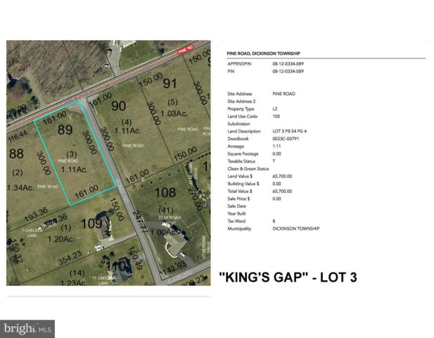 PINE ROAD Kings Gap - Pine Road Lot 3, CARLISLE, PA 17015 (#1005936905) :: Lee Tessier Team