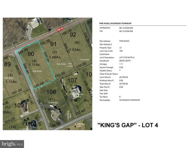 Pine Road Kings Gap - Pine Road Lot 4, CARLISLE, PA 17015 (#1005936953) :: Lee Tessier Team