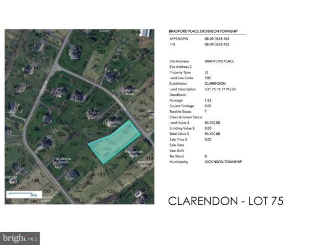 Bradford Clarendon - Bradford Place Lot 75, CARLISLE, PA 17015 (#1005937091) :: John Smith Real Estate Group