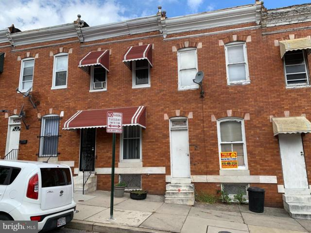 2538 Pratt Street, BALTIMORE, MD 21223 (#1005608288) :: Colgan Real Estate