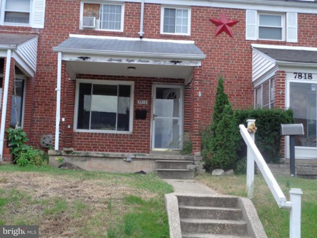 7816 Charlesmont Road, BALTIMORE, MD 21222 (#1006190394) :: Great Falls Great Homes