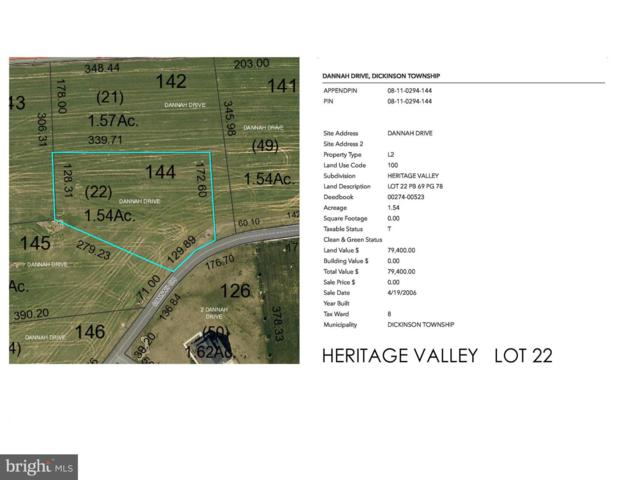 Heritage Valley - Dannah Drive Lot 22, CARLISLE, PA 17015 (#1007541968) :: The Heather Neidlinger Team With Berkshire Hathaway HomeServices Homesale Realty