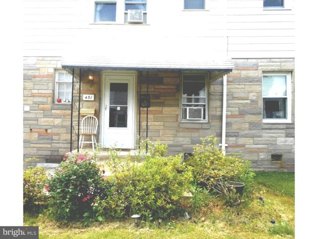 431 S Andrews Avenue, GLENOLDEN, PA 19036 (#1009595358) :: Erik Hoferer & Associates
