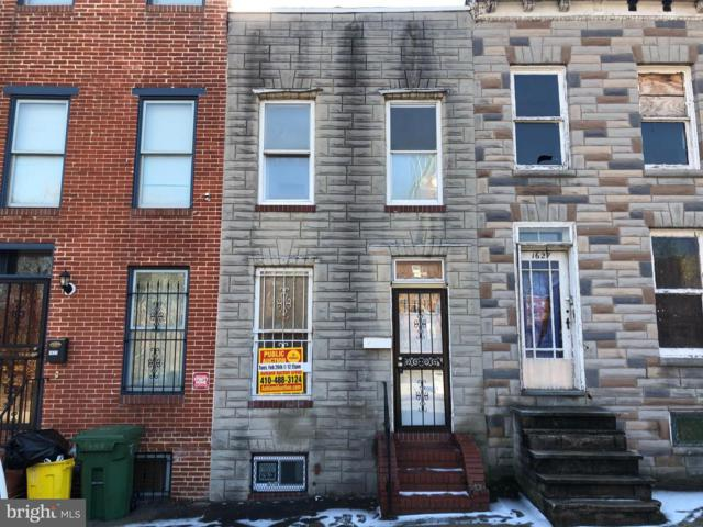 1625 W Pratt Street, BALTIMORE, MD 21223 (#MDBA303292) :: Advance Realty Bel Air, Inc