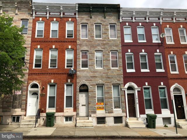 1012 Bennett Place, BALTIMORE, MD 21223 (#MDBA461580) :: Advance Realty Bel Air, Inc