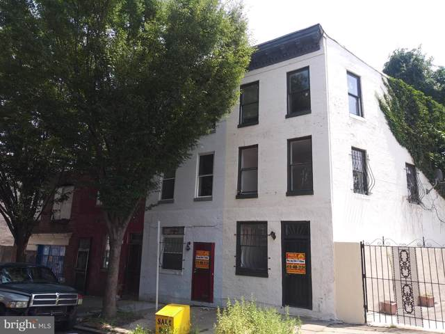 1633 Frederick Avenue, BALTIMORE, MD 21223 (#MDBA467554) :: Network Realty Group