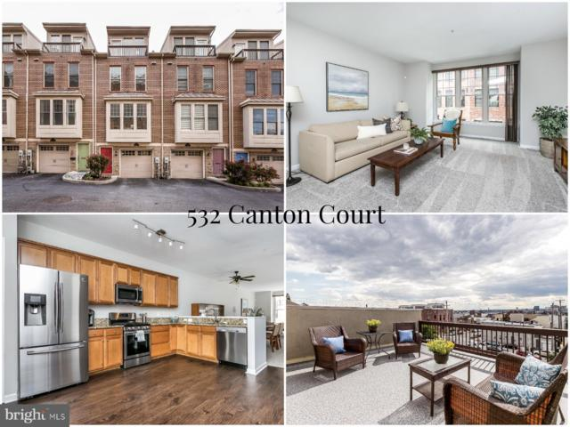 532 Canton Court, BALTIMORE, MD 21224 (#MDBA468678) :: The Speicher Group of Long & Foster Real Estate