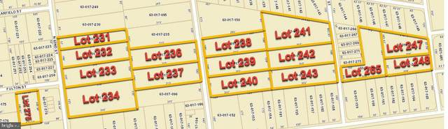 LOTS N 62ND, 63RD, 64TH, 65TH & FULTON Street, HARRISBURG, PA 17111 (#PADA110604) :: TeamPete Realty Services, Inc