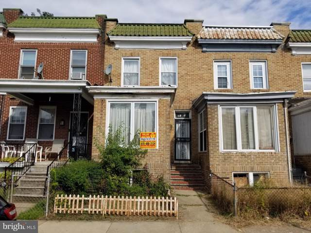 3108 Brighton Street, BALTIMORE, MD 21216 (#MDBA485218) :: The Redux Group
