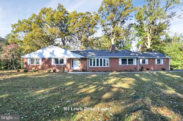 101 Lewis Drive, LAUREL, DE 19956 (#DESU150704) :: LoCoMusings