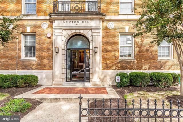 1417 NW Newton Street NW #103, WASHINGTON, DC 20010 (#DCDC490390) :: LoCoMusings
