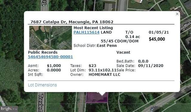 7687 Catalpa Drive, MACUNGIE, PA 18062 (#PALH115616) :: LoCoMusings