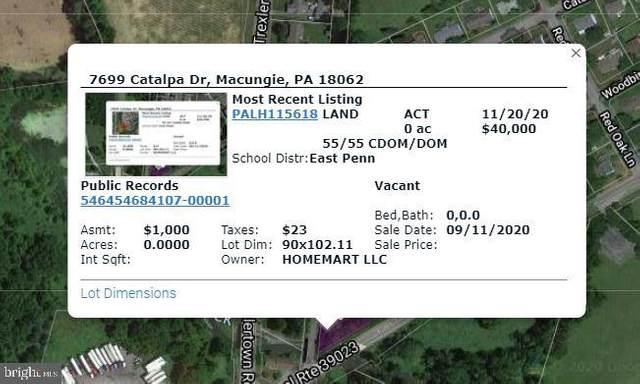 7699 Catalpa Drive, MACUNGIE, PA 18062 (#PALH115618) :: LoCoMusings