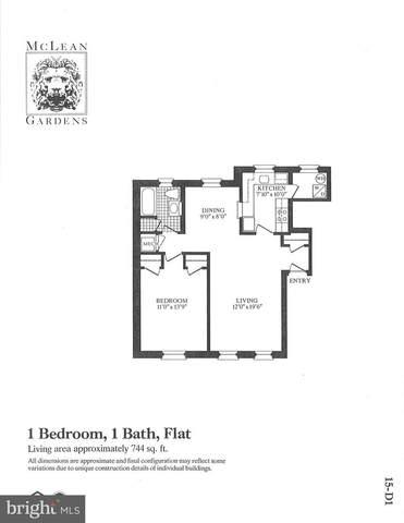 3640 39TH Street NW D526, WASHINGTON, DC 20016 (#DCDC511330) :: Gail Nyman Group