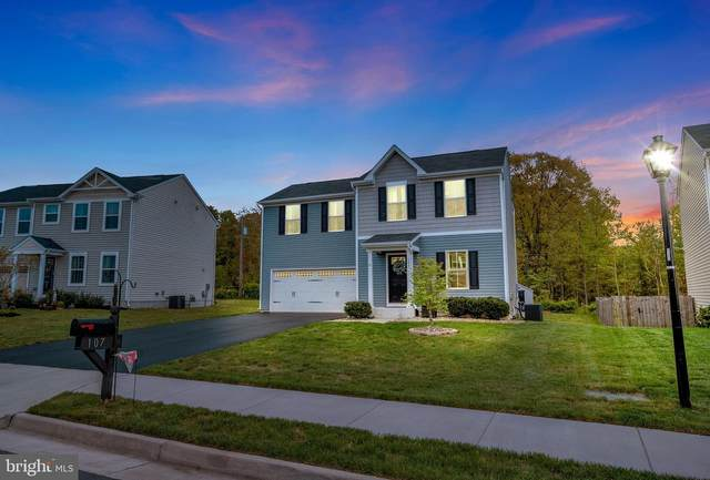107 Taylors Hill Way, FREDERICKSBURG, VA 22405 (#VAST231444) :: Major Key Realty LLC
