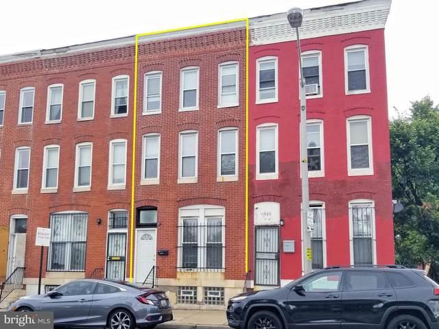 1802 W Franklin Street, BALTIMORE, MD 21223 (#MDBA2007422) :: Dart Homes