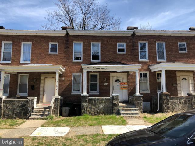 3817 Towanda Avenue, BALTIMORE, MD 21215 (#MDBA357688) :: The Kenita Tang Team