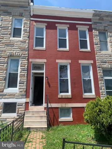 2506 Mchenry Street, BALTIMORE, MD 21223 (#MDBA527344) :: Jennifer Mack Properties