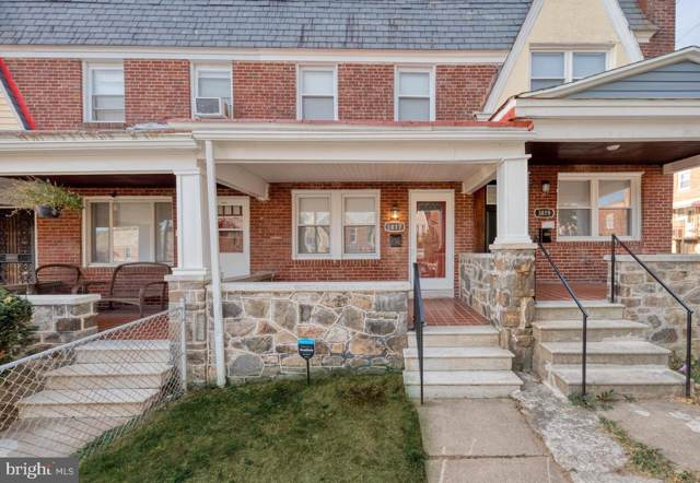3817 Woodridge Road, BALTIMORE, MD 21229 (#MDBA480424) :: The Miller Team