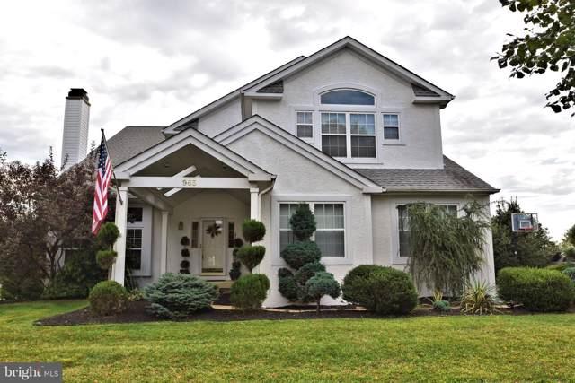 965 Hickory Ridge Drive, CHALFONT, PA 18914 (#PABU470264) :: Linda Dale Real Estate Experts