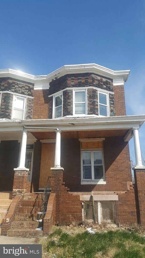 1901 N. Wolfe, BALTIMORE, MD 21213 (#1000982473) :: AJ Team Realty