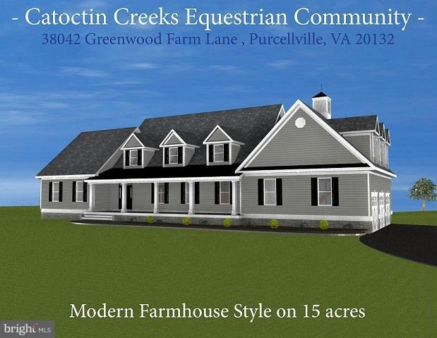 38042 Greenwood Farm Lane, PURCELLVILLE, VA 20132 (#1000431022) :: Colgan Real Estate