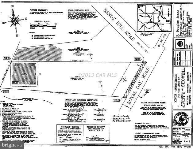 Lot 2 Royal Oak Road, QUANTICO, MD 21856 (#1001561362) :: LoCoMusings