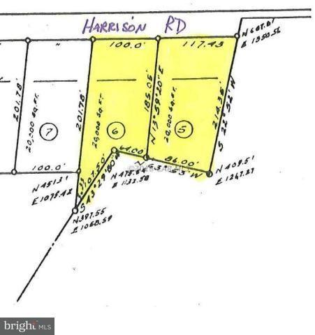 0 Harrison Road, DEAL ISLAND, MD 21821 (#1001562296) :: Condominium Realty, LTD