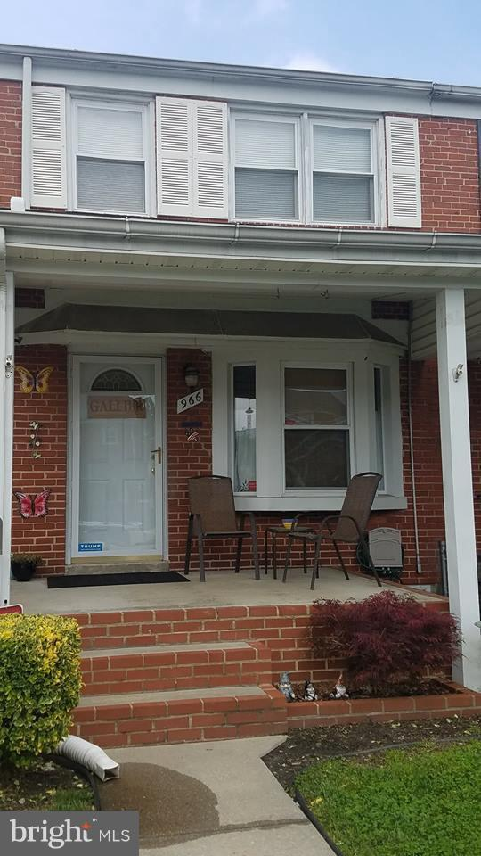 966 Arncliffe Road, BALTIMORE, MD 21221 (#1001783780) :: Great Falls Great Homes