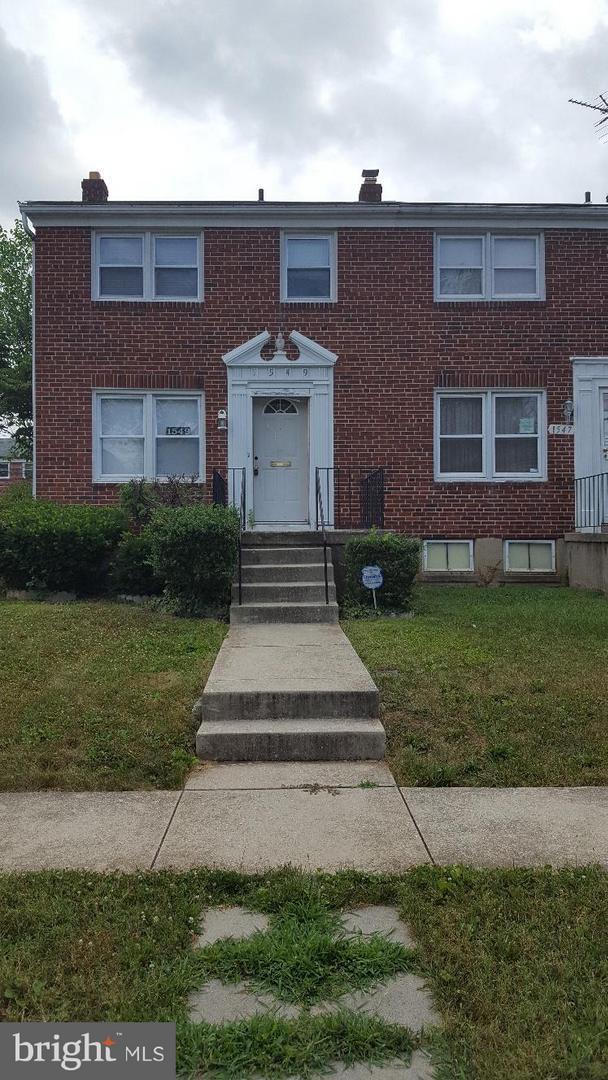 1549 Clairidge Road #1549, BALTIMORE, MD 21207 (#1002217250) :: AJ Team Realty