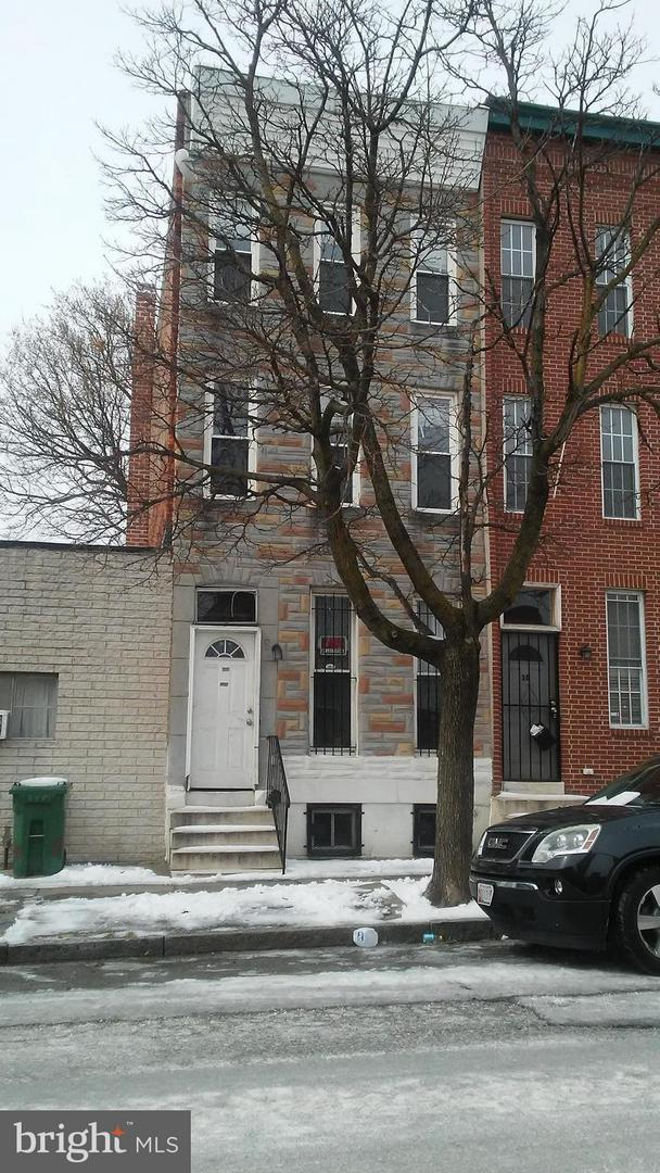 8-N Gilmor Street, BALTIMORE, MD 21223 (#1002227306) :: Remax Preferred | Scott Kompa Group