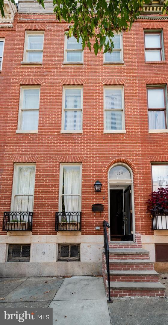 106 Gilmor Street S, BALTIMORE, MD 21223 (#1002505022) :: Great Falls Great Homes
