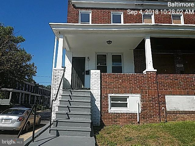 4000 Wilsby Avenue, BALTIMORE, MD 21218 (#1004160184) :: Browning Homes Group
