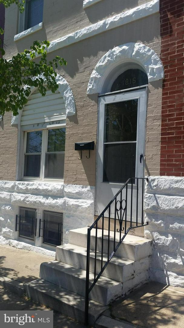1816 Rutland Avenue, BALTIMORE, MD 21213 (#1007957328) :: AJ Team Realty