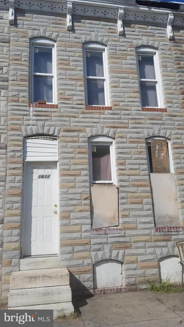 1612 Wolfe Street, BALTIMORE, MD 21213 (#1008349430) :: The Putnam Group