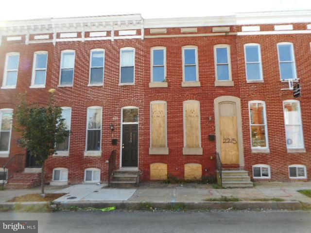 2215 Orleans Street, BALTIMORE, MD 21231 (#1009644738) :: Great Falls Great Homes