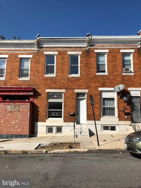 2144 W Lexington Street, BALTIMORE, MD 21223 (#1009932432) :: The Gus Anthony Team