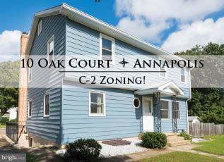 10 Oak Court, ANNAPOLIS, MD 21401 (#1009990468) :: The Gus Anthony Team